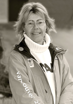 Carol Munro in her Olympics jacket (2010)