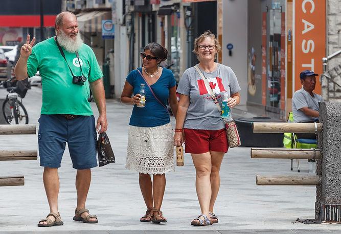 Keith, Salima and Jackie (Jeju City, South Korea)