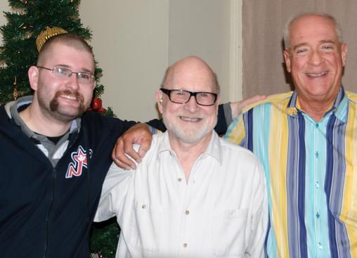 Matt, Barry & Mike (Christmas Party, 2014)