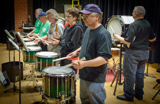 Drummers (Rehearsal, March, 2014)