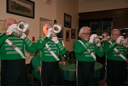 Rick, Doug, Warren and Doug performing (Wearing of the Green, 2013)