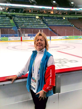 Carol Munro at the 2010 Olympics