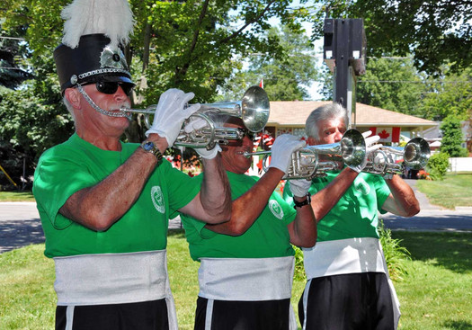 Optimists Alumni warming up (Port Dover, 2011)