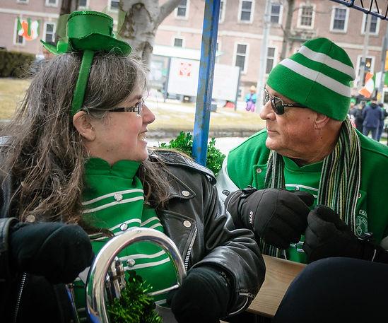 Liz and Mike, Optimists Alumni (Toronto St Pat's Parade, 2019)