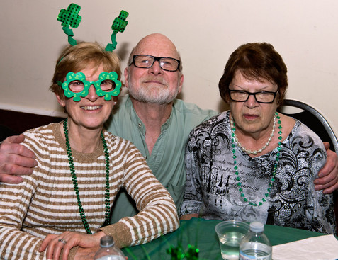 Margaret, Barry & Pat (Wearing of the Green, 2013)
