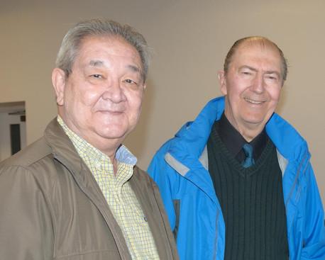 Ron Chong and Richard Boehnke (Remembering Paul Thompson, 2015)