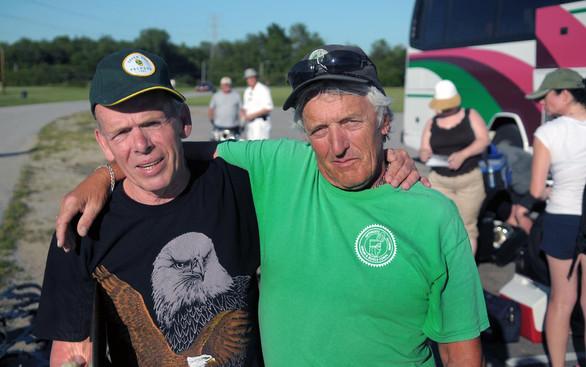 Al Miller and Warren Berger (Michigan City, 2010)