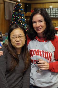 Kimiko Yamada and Karen Bosworth (Fenelon Falls, 2009)