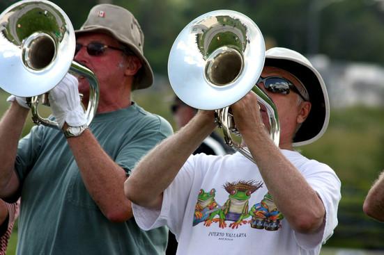 Phil Hennings & Bob Carell, Rehearsing at Villanova (2008)