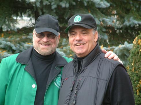 Barry Bell (L) & Joe Gianna (Oshawa, 2005)