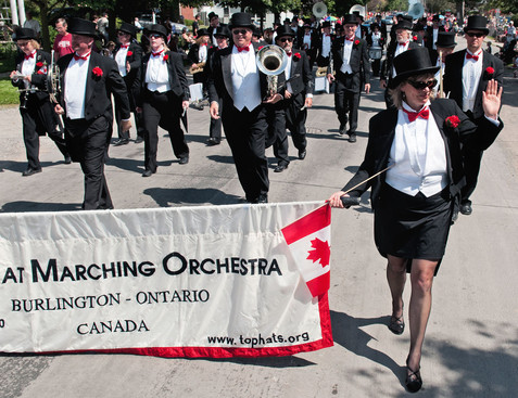 Top Hat Marching Orchestra (Port Dover, 2011)