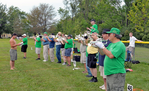 Optimists Alumni rehearsing (Buffalo, 2010)