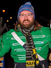 Matt Davis, Optimists Alumni (Brampton Santa Parade, 2019)