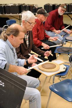 Drummers drumming (2008)