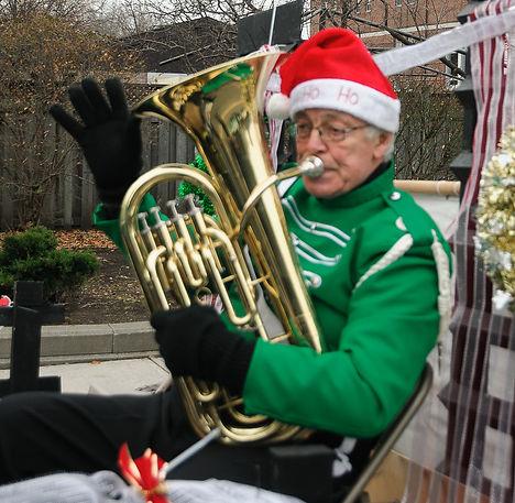 Brian Collingdon, Optimists Alumni (Etobicoke Santa Parade, 2017)