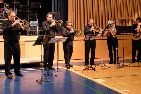 Kevin Matthew, Jim Gardiner, Reg Densmore, Dave Bruce, ?, ?, K-W Hot Jazz Ensemble (Simcoe, 2011)