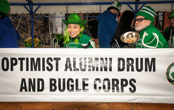Soo and Barry Bell, Optimists Alumni (Toronto St Pat's Parade, 2019)