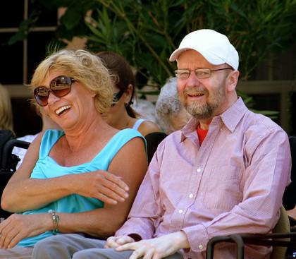 Mary Ann and Wayne Dean (Honouring Wayne Dean, 2008)