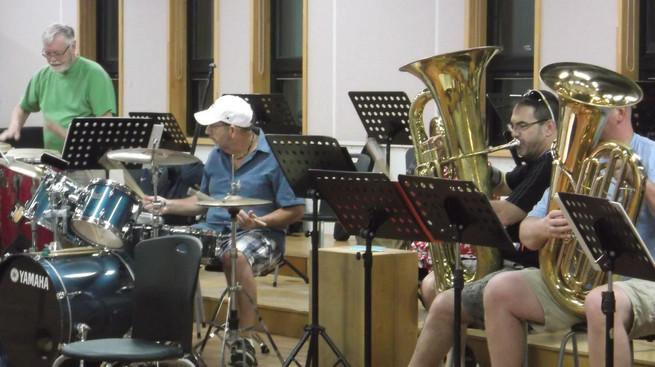 Optimists Alumni's first rehearsal in Jeju (Jeju, South Korea, 2019)