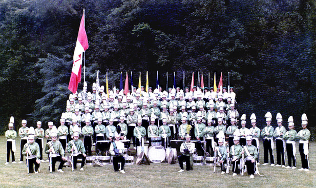 Toronto Optimists formal photo (US Open Championships in Marion, Ohio, 1972)