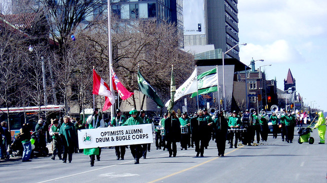 Optimists Alumni (St Pat's parade, 2007)