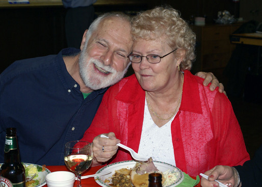 Bob Carell & Josie Chong (Belated Christmas party, Jan. 2008)