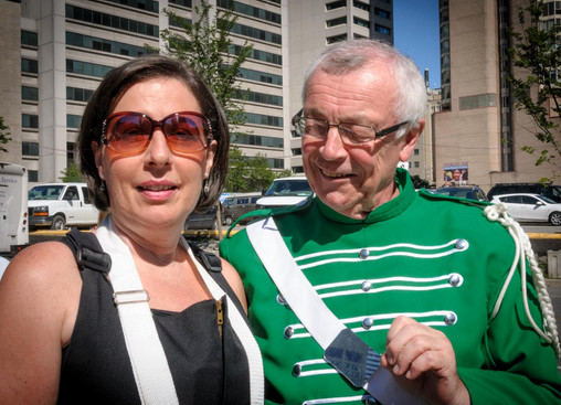 Marilyn & Brian (Lions International Parade, Toronto, 2014)