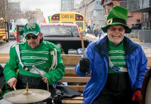 Doug and Ken, Optimists Alumni (Toronto St Pat's Parade, 2019)