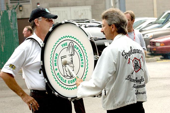 L-R: Dave Blevins & Mark Blandford  (Waterloo 2006)