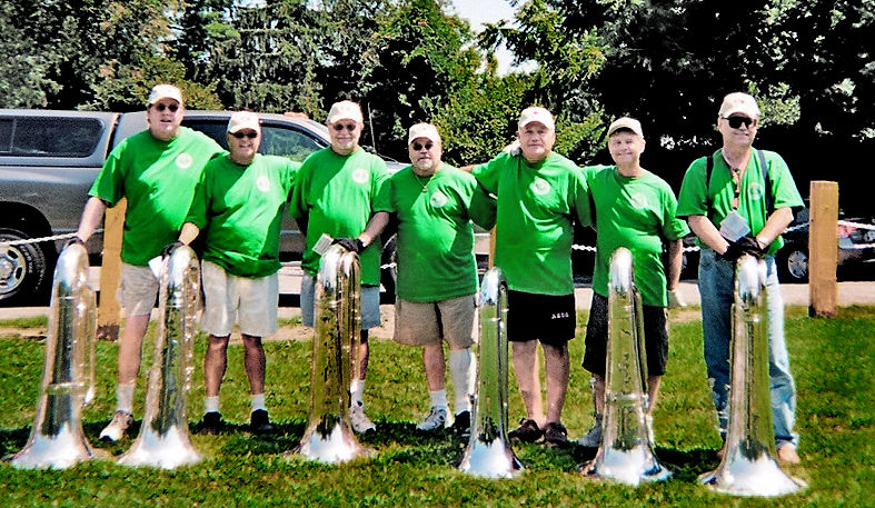 Left to Right - Kevin Broderick, Cape May Court House, NJ;  Rick Robida, Lakefield, ON;  Bruce Mcmail, Binghamton, NY;  Dennis Saccente, Long Island, NY;  Ed Finoro, Guelph ON; Tom Michalski, Boston, MA;  Rich Stanczak, Chicago, ILL (taken in Kingston NY August 11, 2007)  Photo submitted by Rick Robida