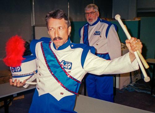 Mark Blandford & Bob Owen (back), Optimists Alumni (649 Promo, 2004)