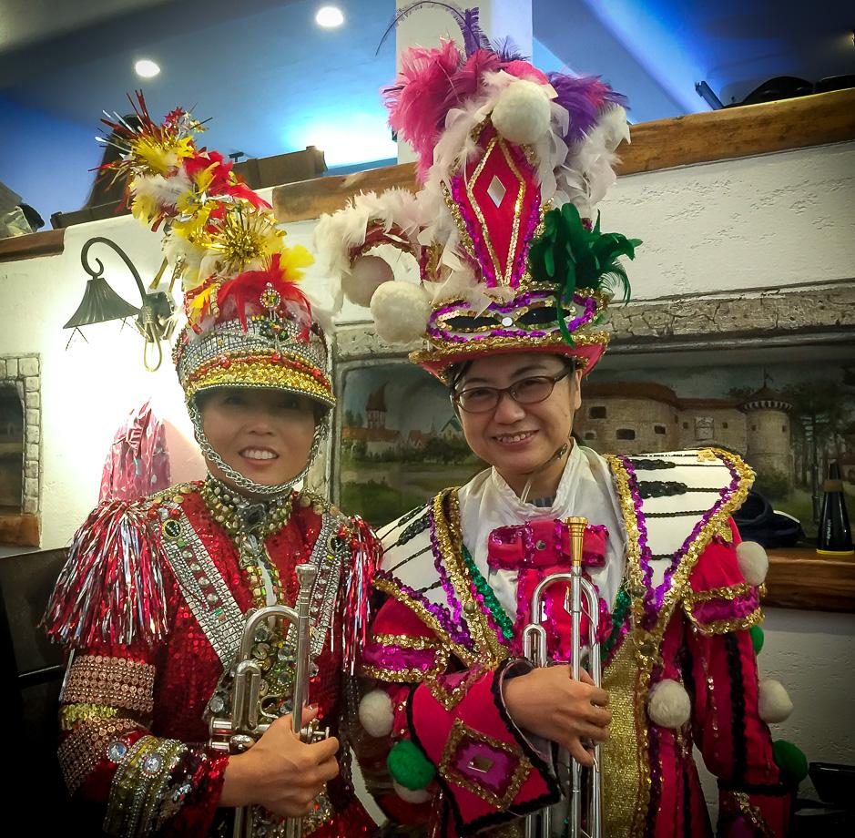 Soo Lee and Kimiko Yamada, Optimists Alumni (Jeju, South Korea, 2019)