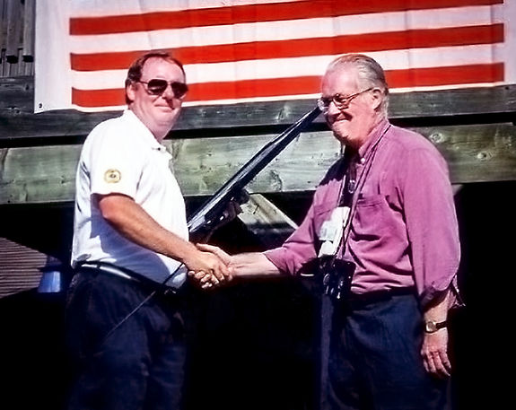 Ric Brown and Don Daber (Optimists Reunion, 1998)