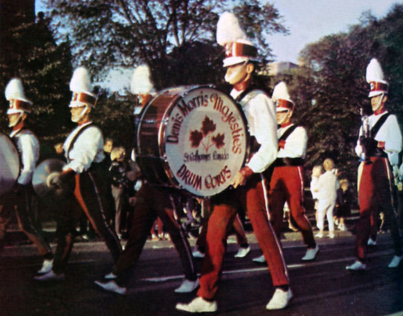 From the Encyclopedia of Drum & Bugle Corps