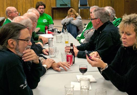 Alumni Members (Fenelon Falls Legion, Nov, 2011)