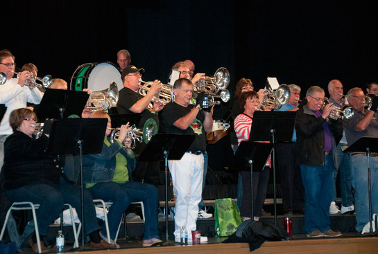 United  Alumni rehearsing (Simcoe, 2013)