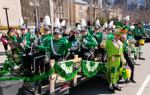 Optimists Alumni (Toronto St Patrick's Day Parade, 2017)