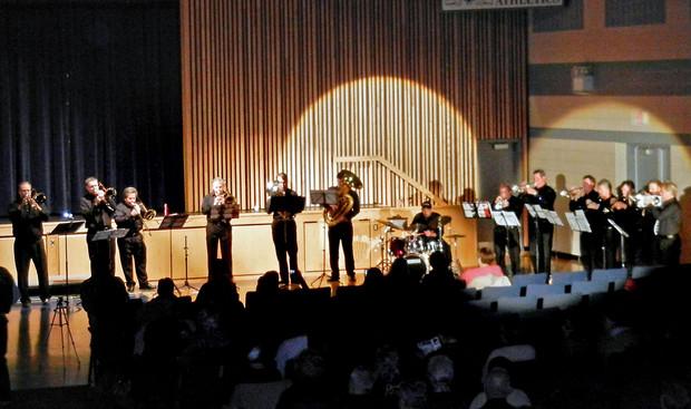 K-W Hot Jazz Ensemble (Simcoe, 2011)