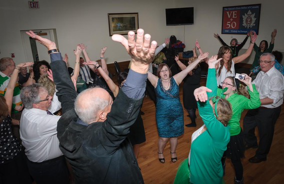 Dancing up a storm (Wearing of the Green, 2013)