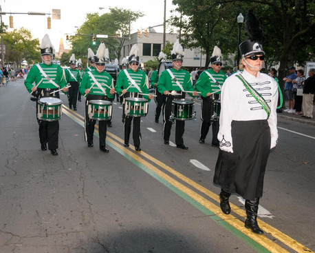 Optimists Alumni in labor Day Parade (Rochester, 2014)