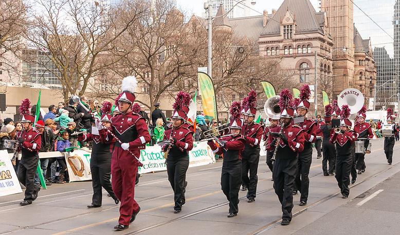 McMaster Band (Toronto, St Pat's Parade, 2018)