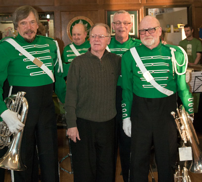 Bill, George, Brian and Barry (Wearing of the Green, 2013)