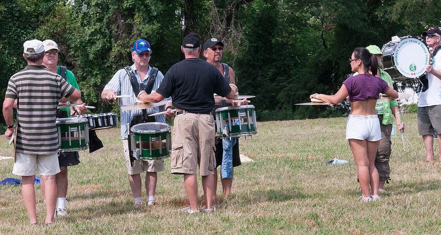 Optimists Alumni rehearsing (DCA, Annapolis, 2012)