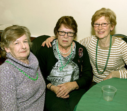 Hazel, Pat and Margaret (Wearing of the Green, 2013)