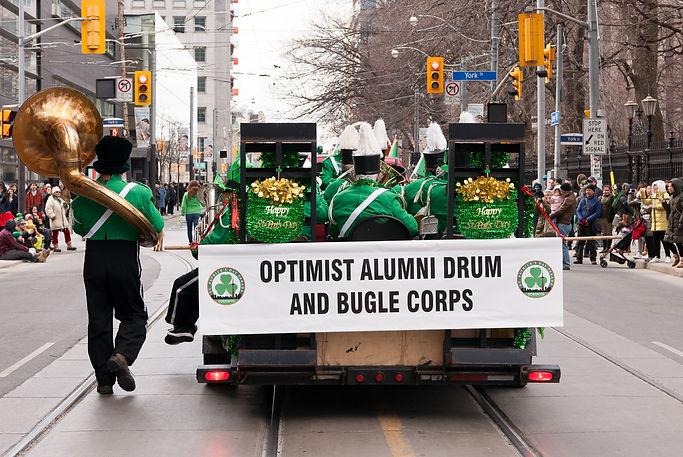 Optimists Alumni (Toronto, St Pat's Parade, 2018)