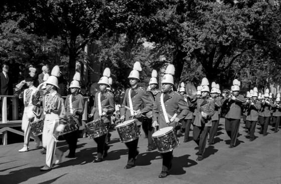 Grantham Police Boys Band (Grape Festival Parade, Welland, 1960)