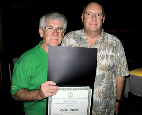 Gord Brown and Ric Brown (Rochester 2009)