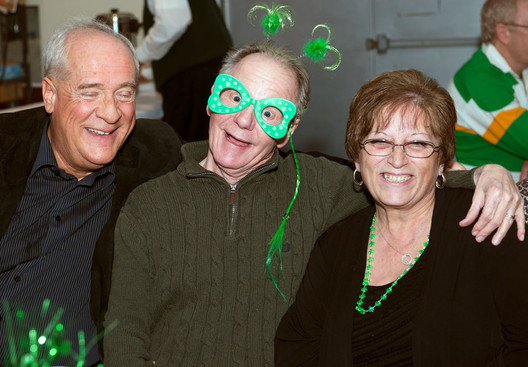 Mike, George and Rose (Wearing of the Green, 2013)