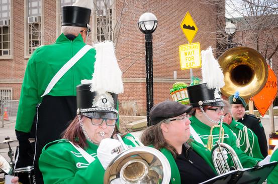Heather, Liz and Kirstine, Optimists Alumni (Toronto St Patrick's Day Parade, 2017)