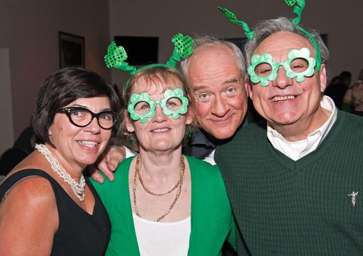 Debbie, Jackie, Mike & Joe (Wearing of the Green, 2013)